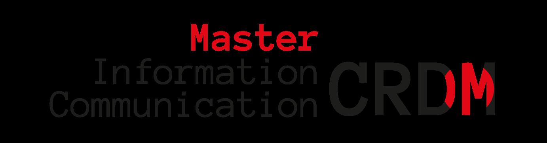 Master Communication Rédactionnelle Dédiée au Multimédia